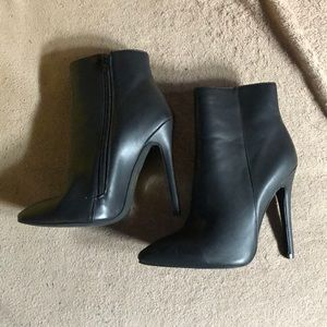 Black Booties Size 5